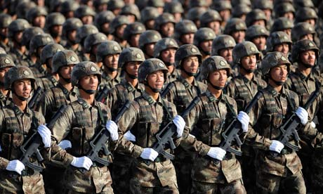 Military Might—A More Aggressive China's International Effects